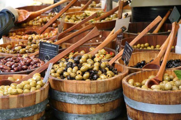 Фестиваль оливок в Толедо