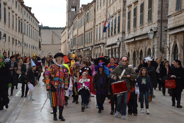 Февральский карнавал в Дубровнике