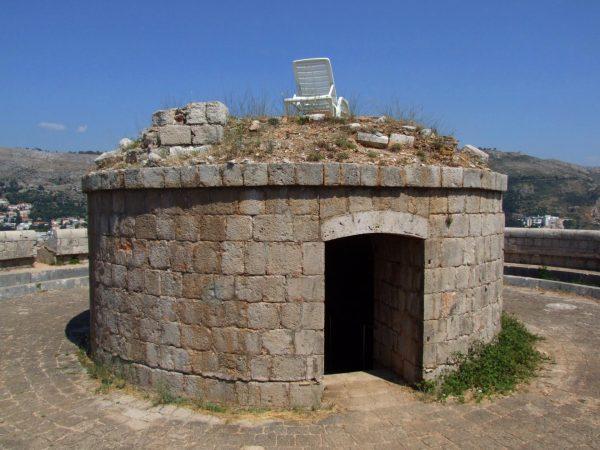 Форт Наполеона на острове Локрум недалеко от Дубровника