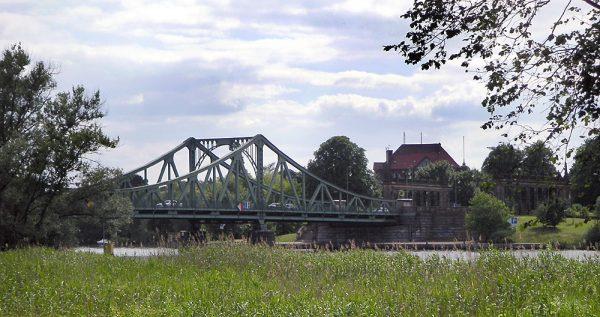 Глиникский мост над рекой Хафель