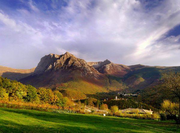Гора в парке Монти Сибиллини
