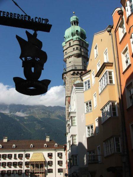 Городская башня в Инсбруке