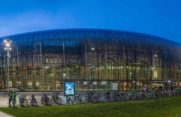 Городской вокзал Страсбурга