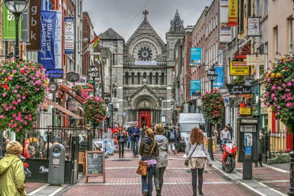 Графтон-стрит в Дублине