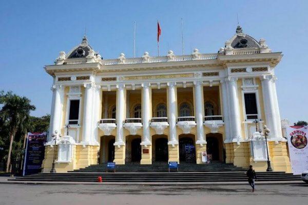 Ханойский оперный театр во Вьетнаме