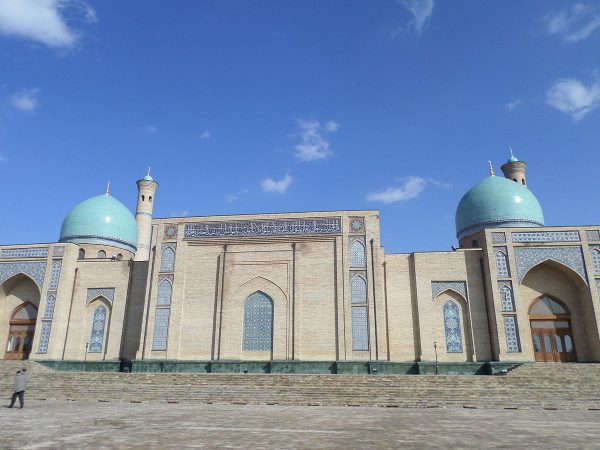 Храм ансамбля Хазрати Имам в Ташкенте