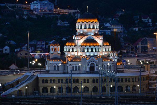 Храм Нерукотворного Образа Христа Спасителя в Сочи