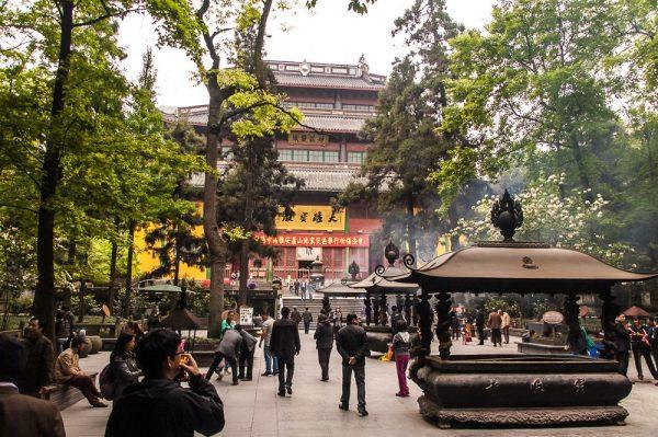 Храм Прибежища души в Китае