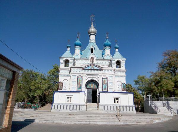 Храм Святого Александра Невского в Ташкенте
