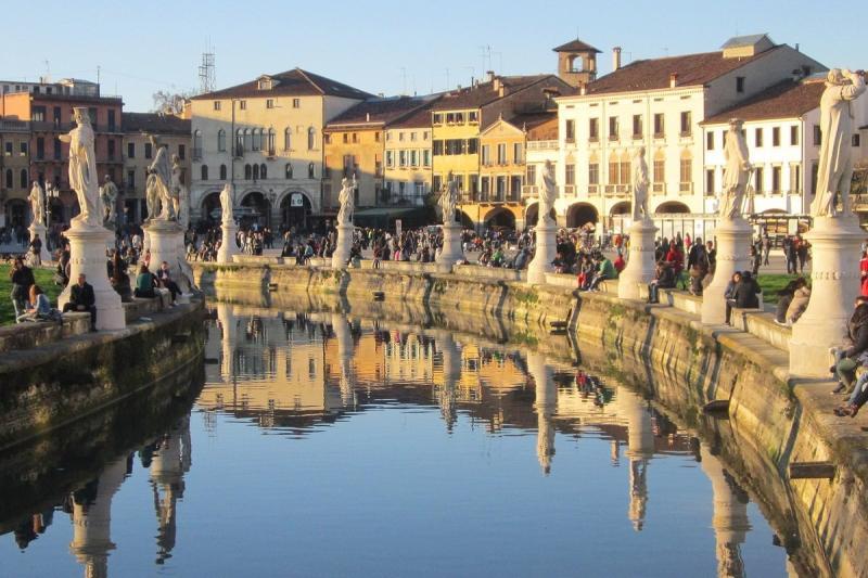 Падуя — уютный городок с атмосферой средневековья