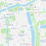 Карта центра Ханчжоу