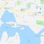 Карта центра Потсдама