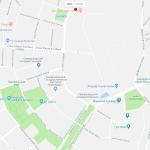 Карта центра Самарканда