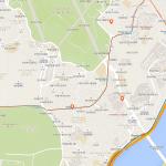 Карта центра Сеула