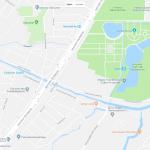 Карта центральной части Ташкента