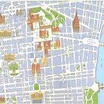 Карта центральной части Турина