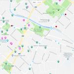 Карта достопримечательностей в центре Симферополя
