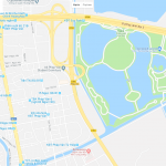 Карта Ханоя с парком развлечений