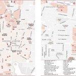 Карта основных районов Палермо с достопримечательностями