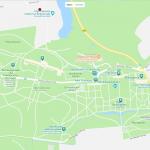 Карта парка Сан-Суси в Потсдаме