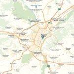 Карта пригорода Турина