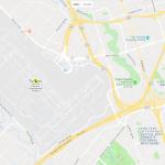Карта расположения аэропорта рядом с Торонто