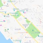 Карта расположения Морского порта в Сочи