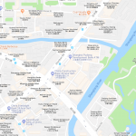 Карта расположения парка в Ханчжоу