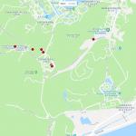 Карта расположения зоопарка в Ханчжоу
