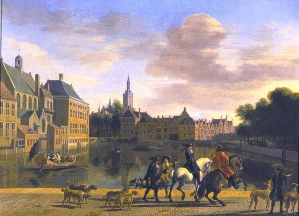Картина голландского художника