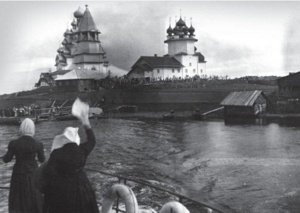 Кижи (фото 1900 года)