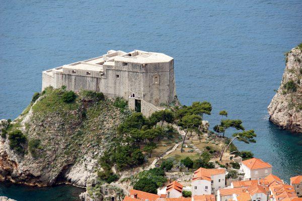 Крепость Ловриенац в Дубровнике