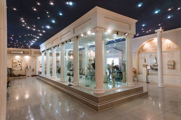 Крытый музей археологического комплекса «Горгиппия»