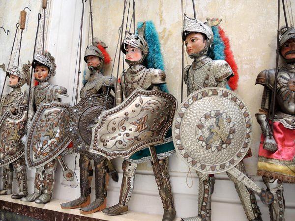 Куклы-марионетки в музее Палермо