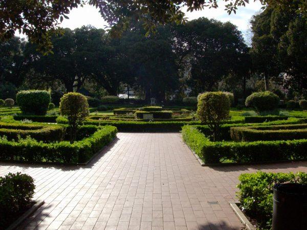 Ландшафтное оформление в заповеднике Parco d'Orleans