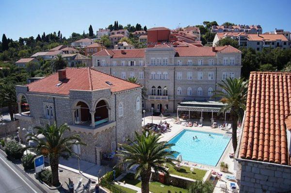 Район Лапад в Дубровнике