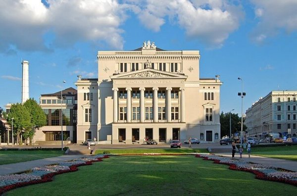 Латвийская национальная опера в Риге
