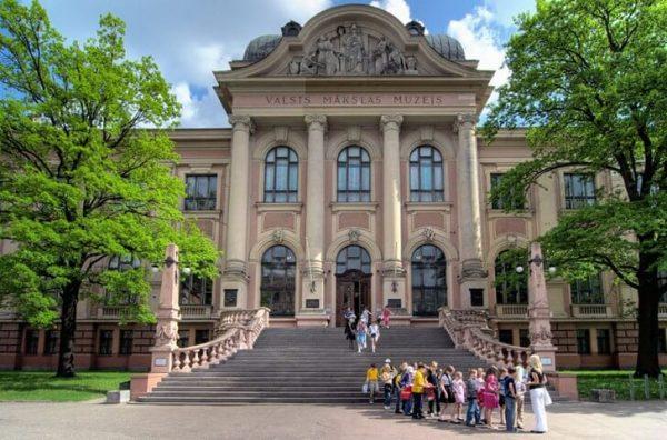 Латвийский национальный художественный музей в Риге