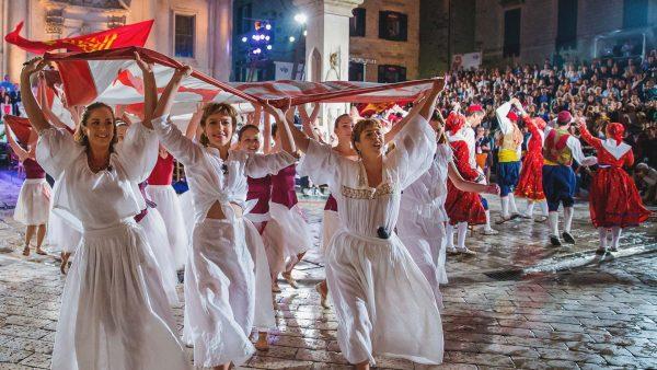 Летний фестиваль в Дубровнике
