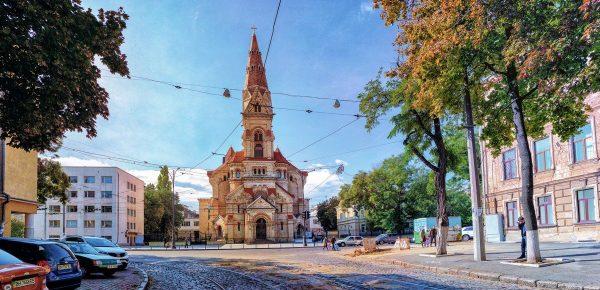 Лютеранская церковь в Одессе
