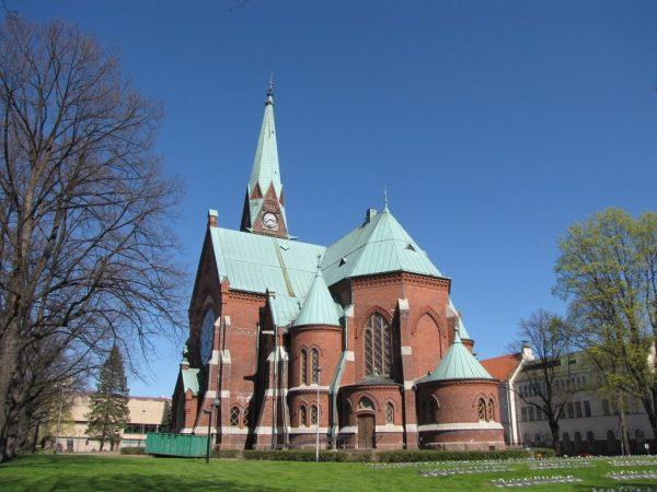 Лютеранский собор в Котке