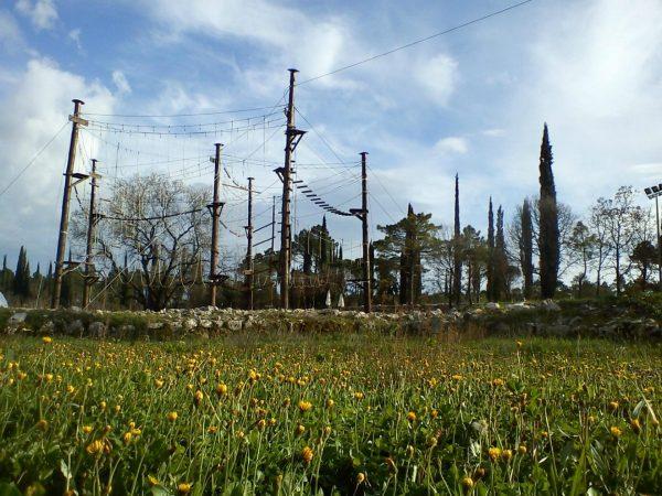 Sveta Ana Adrenalin Park в Дубровнике