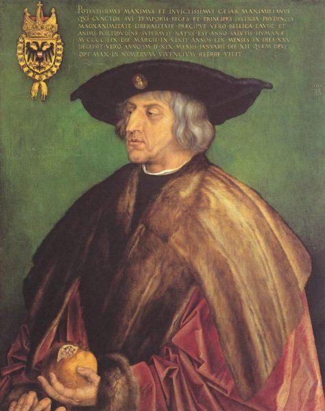 Портрет Максимилиана I кисти Альбрехта Дюрера
