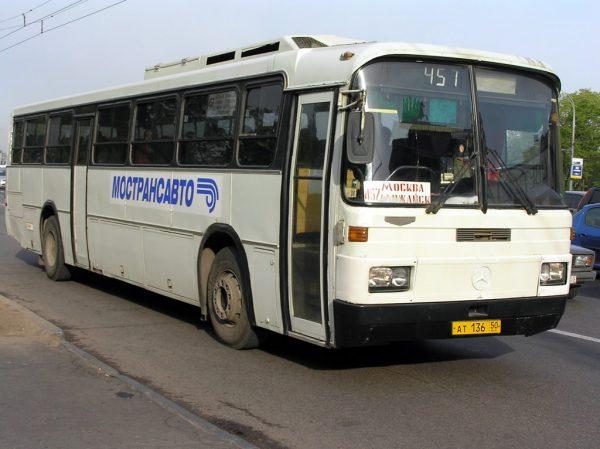 Междугородний рейсовый автобус №457 (Можайск)