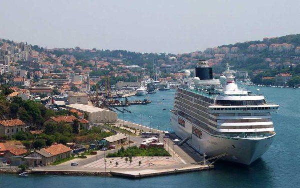 Морской порт Дубровника