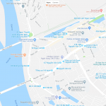 Мосты на карте Ханоя