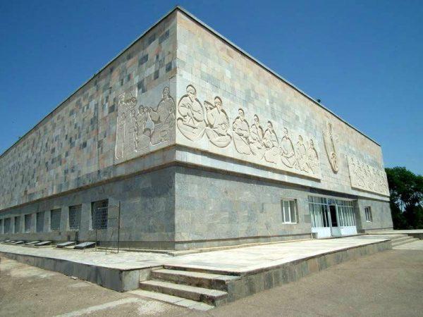 Музей Афросиаб в Самарканде