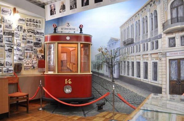 Музей электротранспорта «Крымтроллейбус» в Симферополе