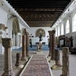Музей-лапидарий внутри