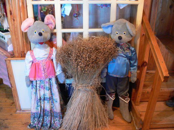 Мыши и лён